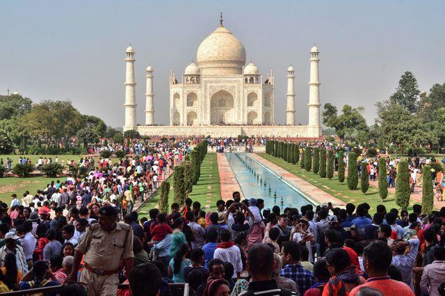 Le nombre de visiteurs du Taj Mahal doit être limité à 40 000 par jour.