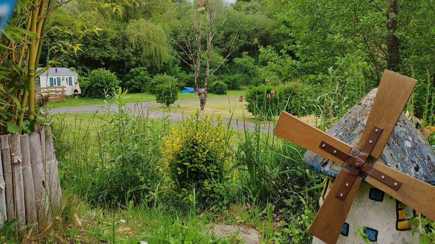 Au camping Traspy à Thury-Harcourt, le week-end est quasiment complet.