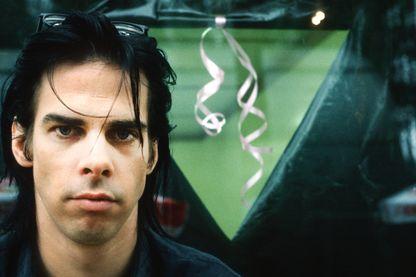Nick Cave,  chanteur, auteur, compositeur, acteur, écrivain et scénariste le 2 juillet 1989 en Belgique.
