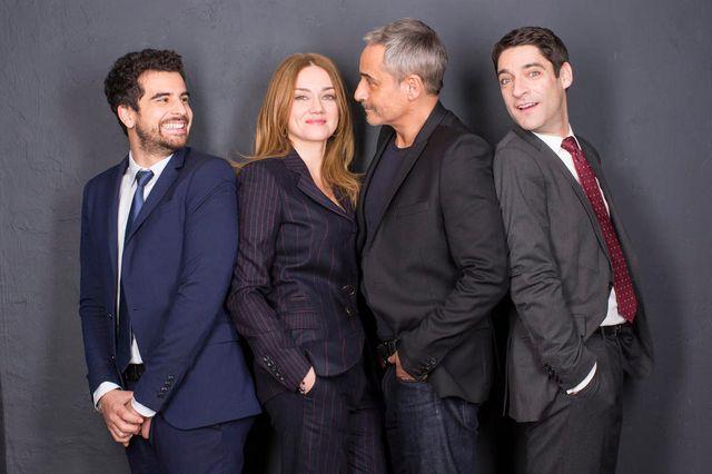 Gary Mihaileanu, Marine Delterme, Jean-Michel Tinivelli et Loïc Legendre
