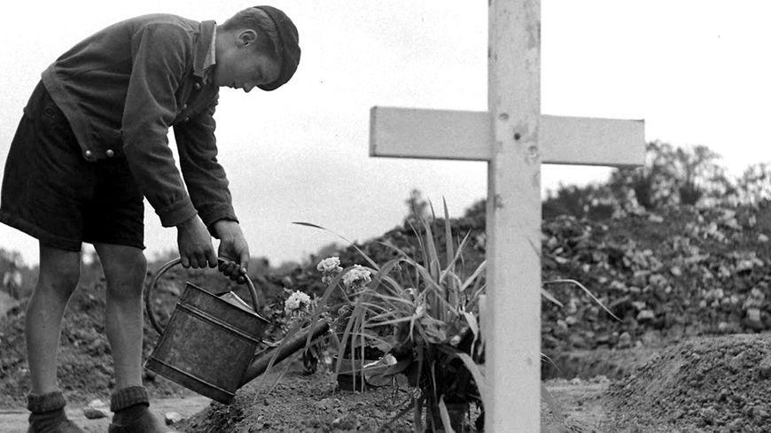 Les cimetières provisoires du débarquement en Normandie