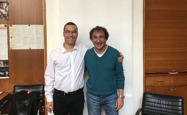 Lionel Esparza et Marco Armiliato à la Staatsoper de Vienne