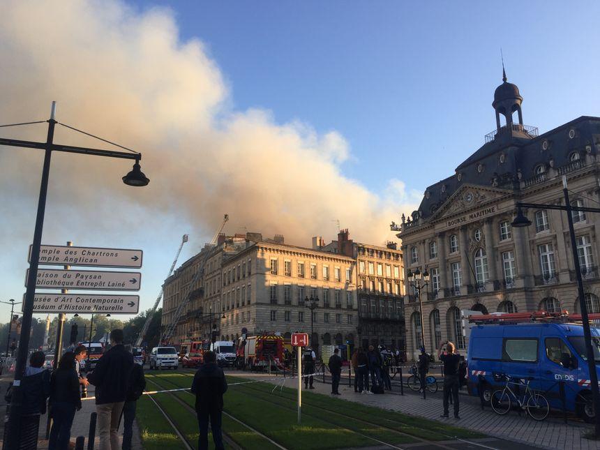 Plusieurs immeubles ont été évacués.