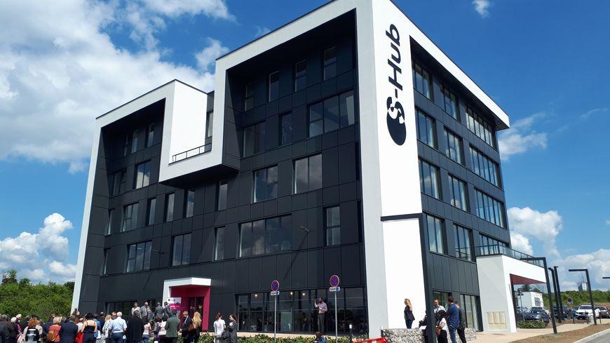 S-Hub à Yutz, premier bâtiment dédié au télétravail dans le nord mosellan qui en appelle d'autres.