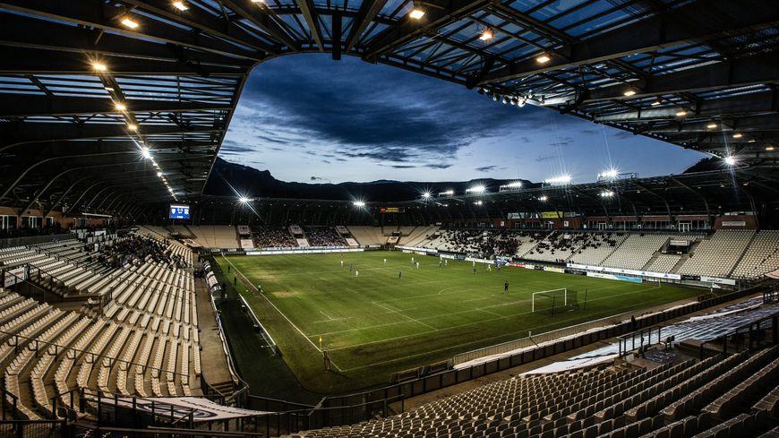 Le stade des Alpes à Grenoble