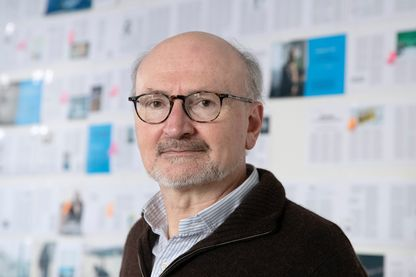 """Eric Fottorino, ancien directeur du """"Monde"""", membre fondateur des publications Zadig, Le 1, America à Paris, le 7 mars 2019."""