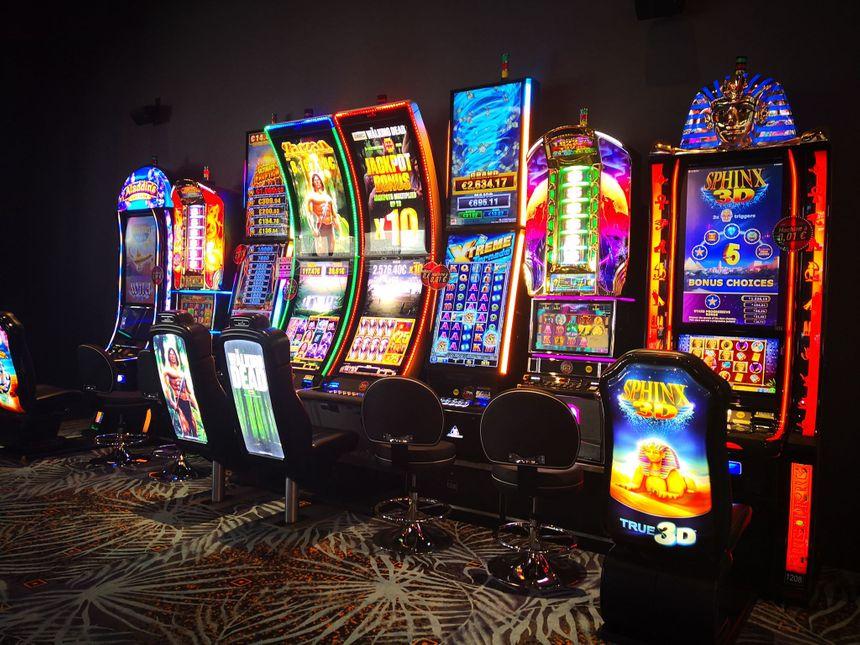 Les machines du nouveau casino de Pau