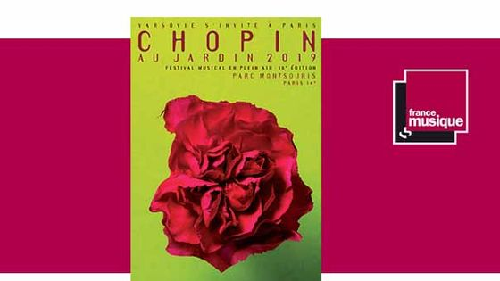 Festival Chopin au Jardin du 16 juin au 14 juillet 2019 au Parc Montsouris
