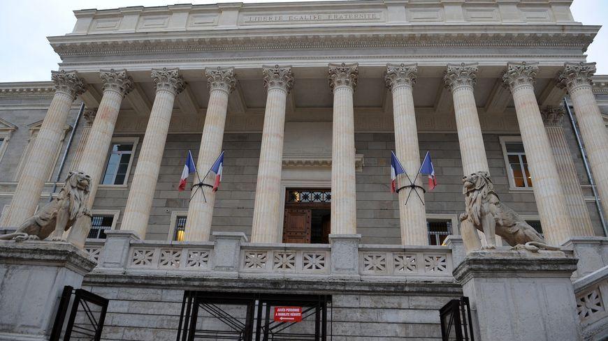 Le tribunal de Saint-Etienne.
