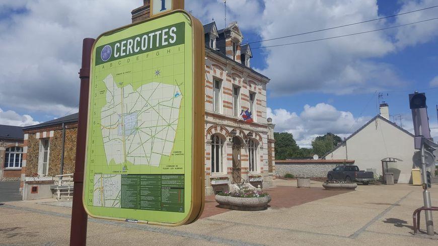Cercottes, commune an nord d'Orléans