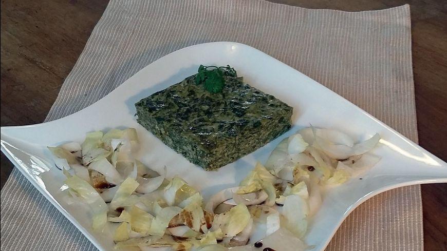 Le gateau-verdure