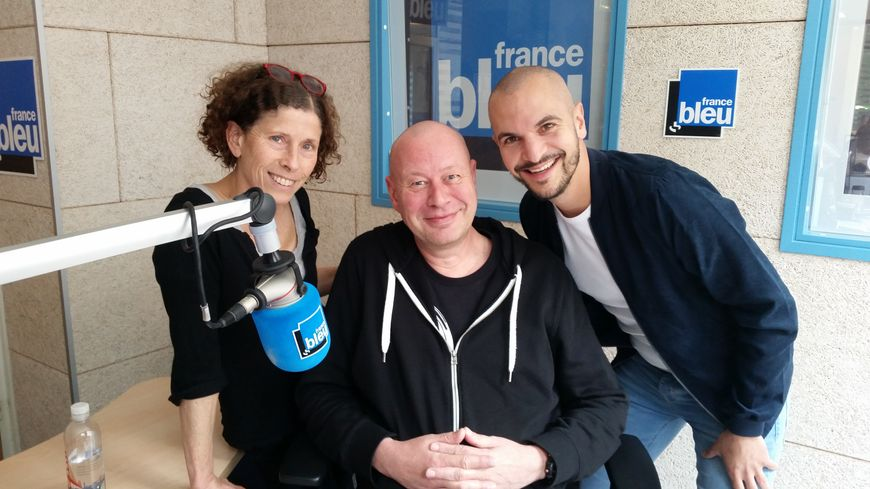 Julien Strelzyk, Philippe Heinen et Valérie Pierson