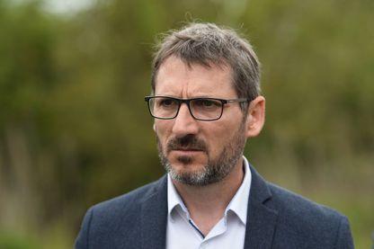 Matthieu Orphelin, le député de Maine-et-Loire, ancien député LREM, à Angers, le 23 avril 2019