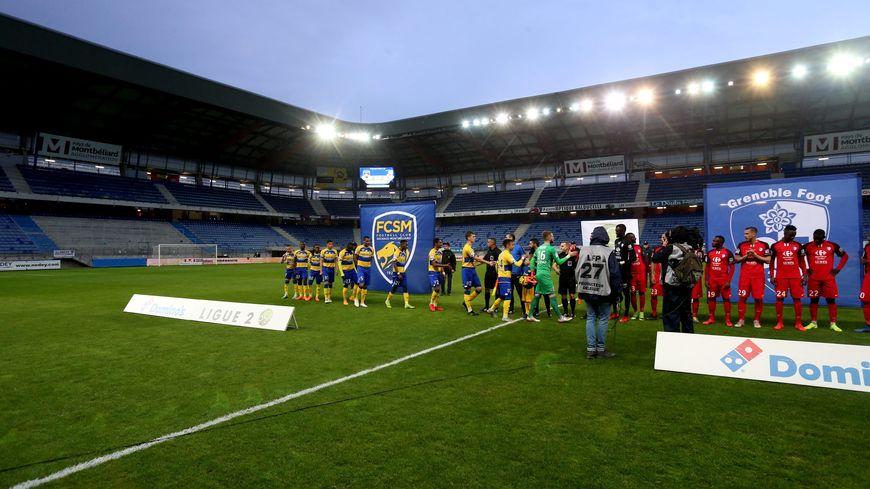 Sochaux s'était imposé 3-1 contre Grenoble à huis clos à Bonal.