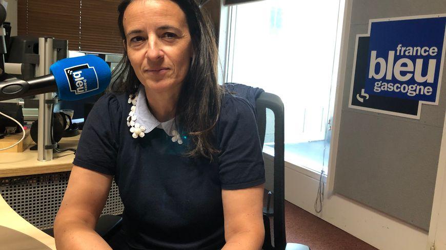 """Florence Delage Sicard, de l'association """"La Petite Mouléte"""""""