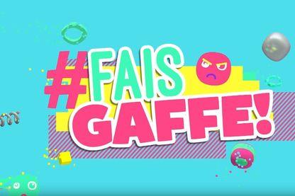 Campagne #FaisGaffe de la chaîne Gulli (capture d'écran : https://www.youtube.com/watch?v=9tYs45gU7QE)