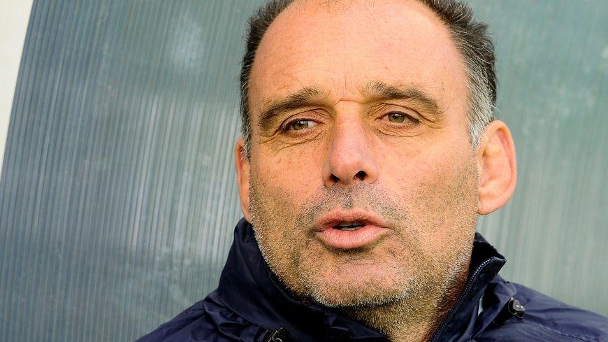 Le Palois Joël Rey, entraîneur des avants de l'Aviron Bayonnais.
