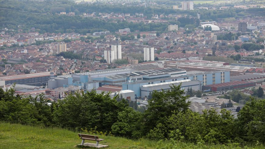 L'emprise Alstom Général Electric à Belfort