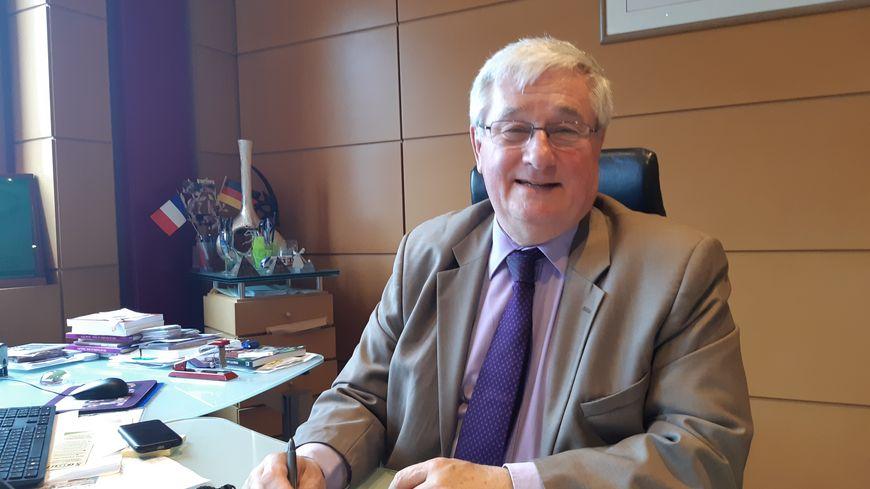 Michel Fourcade, le maire de Pierrefitte-sur-Seine (Seine-Saint-Denis)
