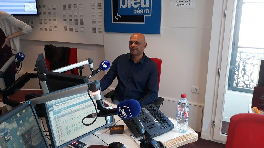 Thierry Mathieu dans notre studio