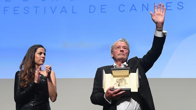 Alain et Anouchka Delon