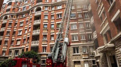 incendie d'appartements dans le XII e arrondissement de Paris