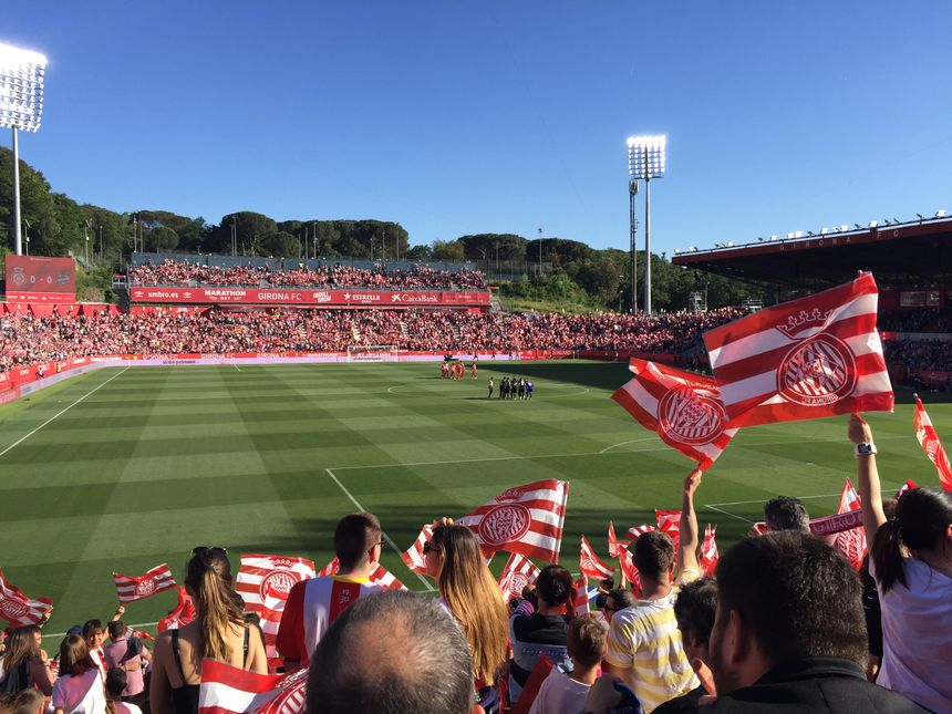 Les supporters catalans tous derrière leur équipe