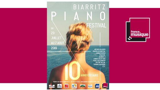 10e édition du Biarritz Piano Festival du 29 juillet au 7 août 2019