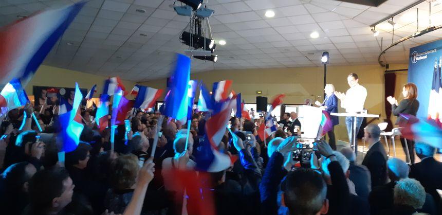Le Rassemblement National veut faire de l'élection du 26 mai un referendum contre Emmanuel Macron