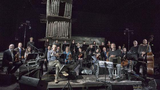 Paolo Fresu, Daniele Di Bonaventura, Armoniosoincanto, l'orchestre de chambre de Pérouse