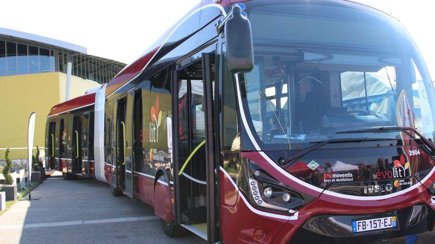 Le nouveau bus Evolity du Pays de Montbéliard