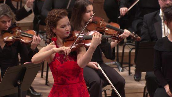 Sibelius et Berlioz par Hilary Hahn et l'Orchestre Philharmonique de Radio France, dirigé par Mikko Franck