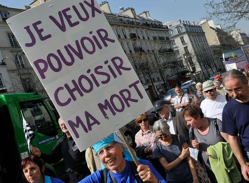 Marche pro-euthanasie à Paris