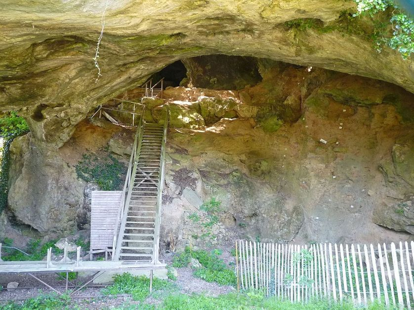La grotte de Montgaudier (Charente)