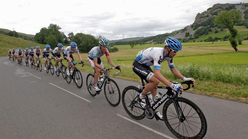 La dernière fois que le Tour de France avait fait étape à Saint-Flour, c'était en 2011 pour une arrivée.
