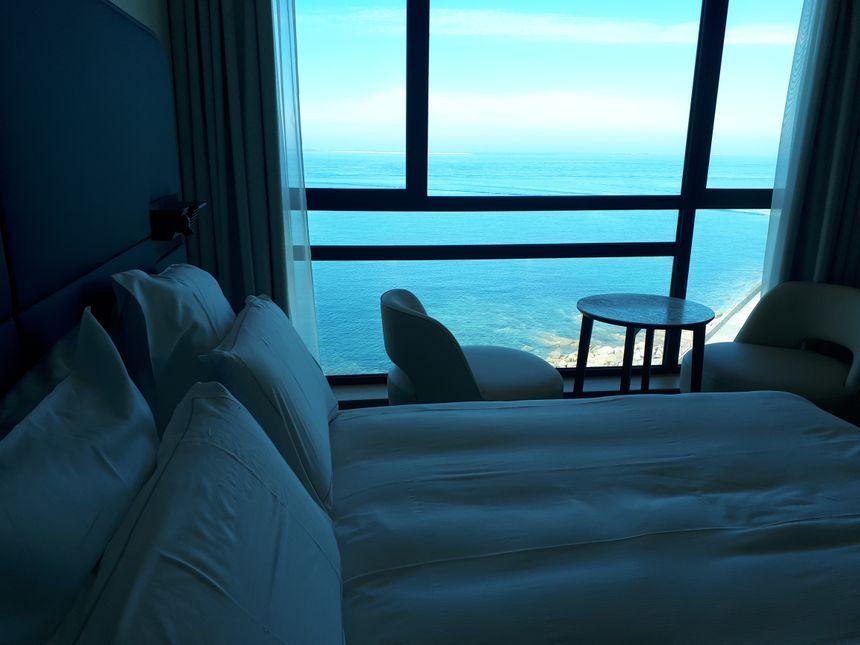 Des chambres avec une vue vertigineuse.