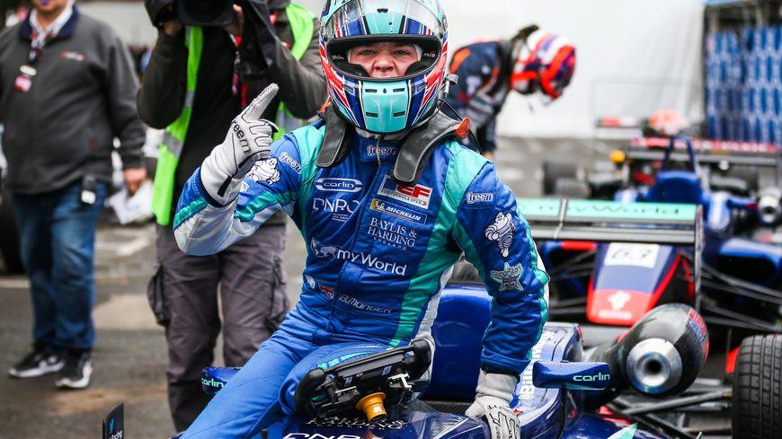 Billy Monger, vainqueur de la 78e édition du Grand Prix de Pau.