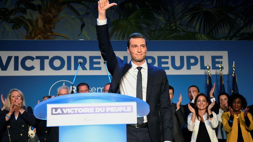 Malgré ses scores élevés en Picardie, Jordan Bardella fait moins bien que Marine Le Pen il y a cinq ans.