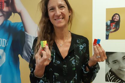 Anne Besson directrice du marketing Lego France