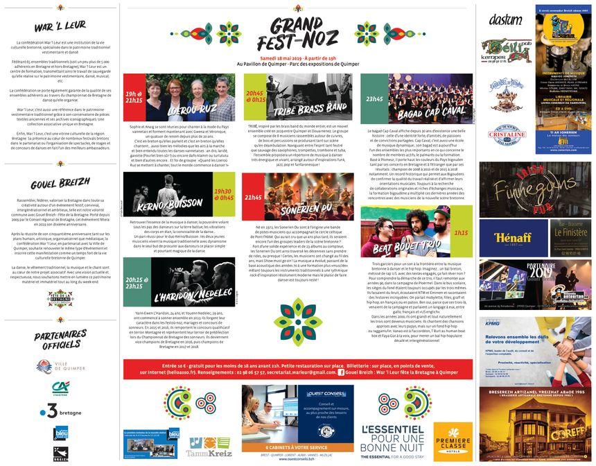 Gouel Breizh Kemper 209 | Grand Fest Noz au Pavillon le 18 mai à partir de 19h00