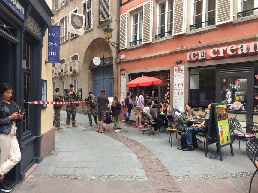 La rue des Dentelles à Strasbourg.