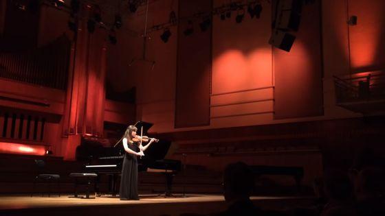 La candidate belge Sylvia Huang au Concours Reine Elisabeth 2019