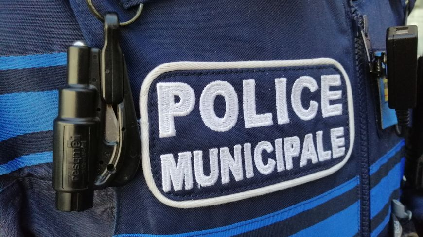 Insigne de la police municipale - Photo d'illustration
