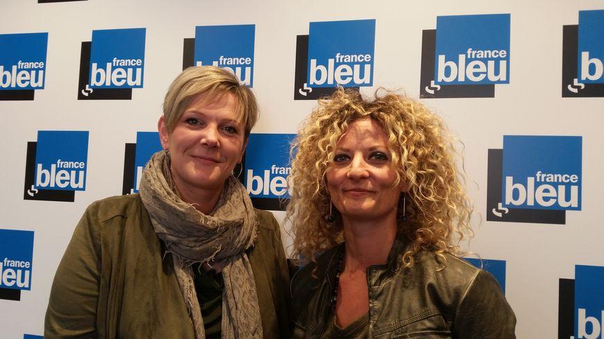 Anne Scheltien et Sandra Rutili