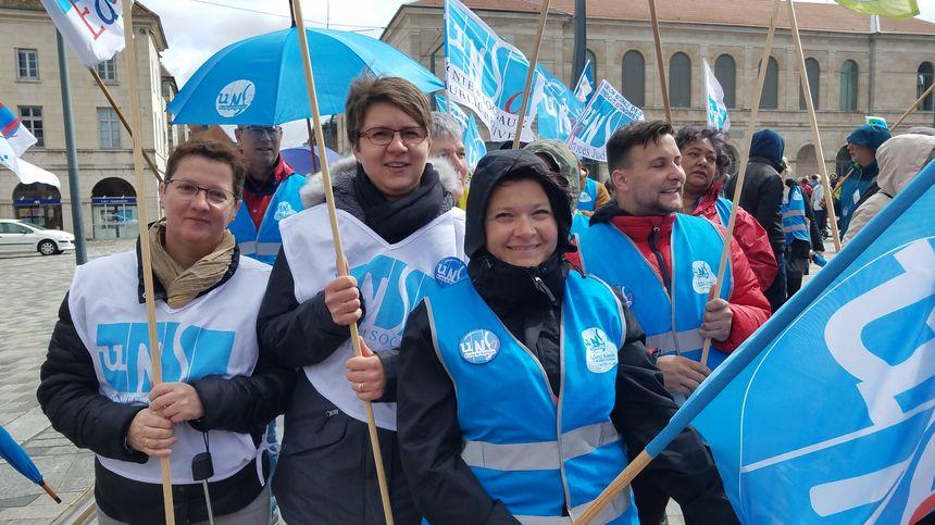 Mobilisation unitaire des fonctionnaires partout en France à l'appel de neuf syndicats