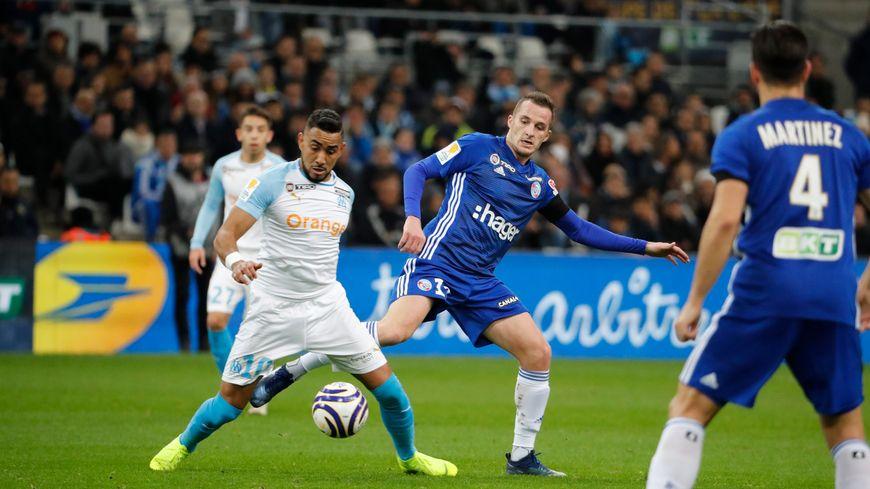 8e de finale de la coupe de la Ligue, Marseille contre Strasbourg, le 19/12/2018