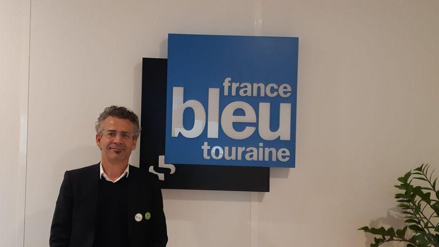 Emmanuel Denis, écologiste, conseiller d'opposition à la mairie et à la Métropole de Tours