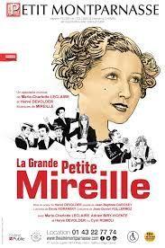 """Affiche du spectacle """"La grande petite Mireille"""""""