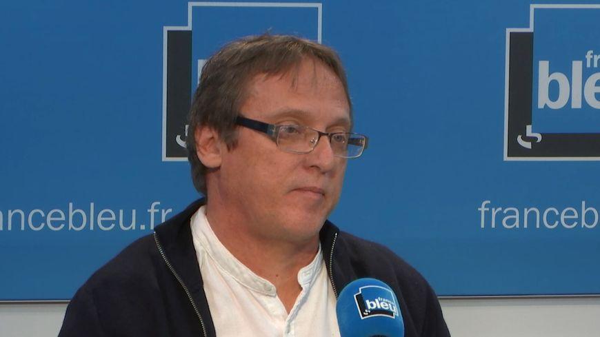 Joël Andouche, délégué CFDT chez Orange dans les Alpes-Maritimes