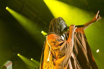 Tiken Jah Fakoly en concert le 5 juillet 2014 au Montreux Jazz Festival, Suisse.